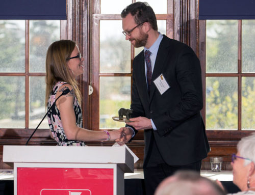 Never Too Late Graduate Receives Learning Award